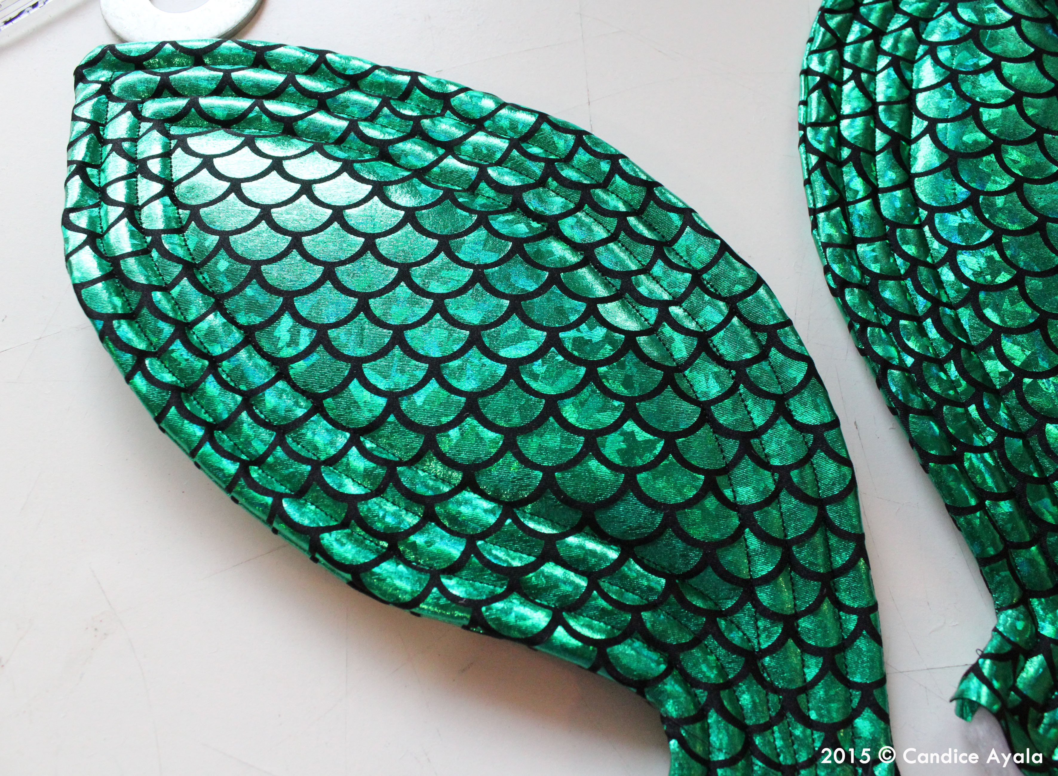videos of how to make a mermaid tail