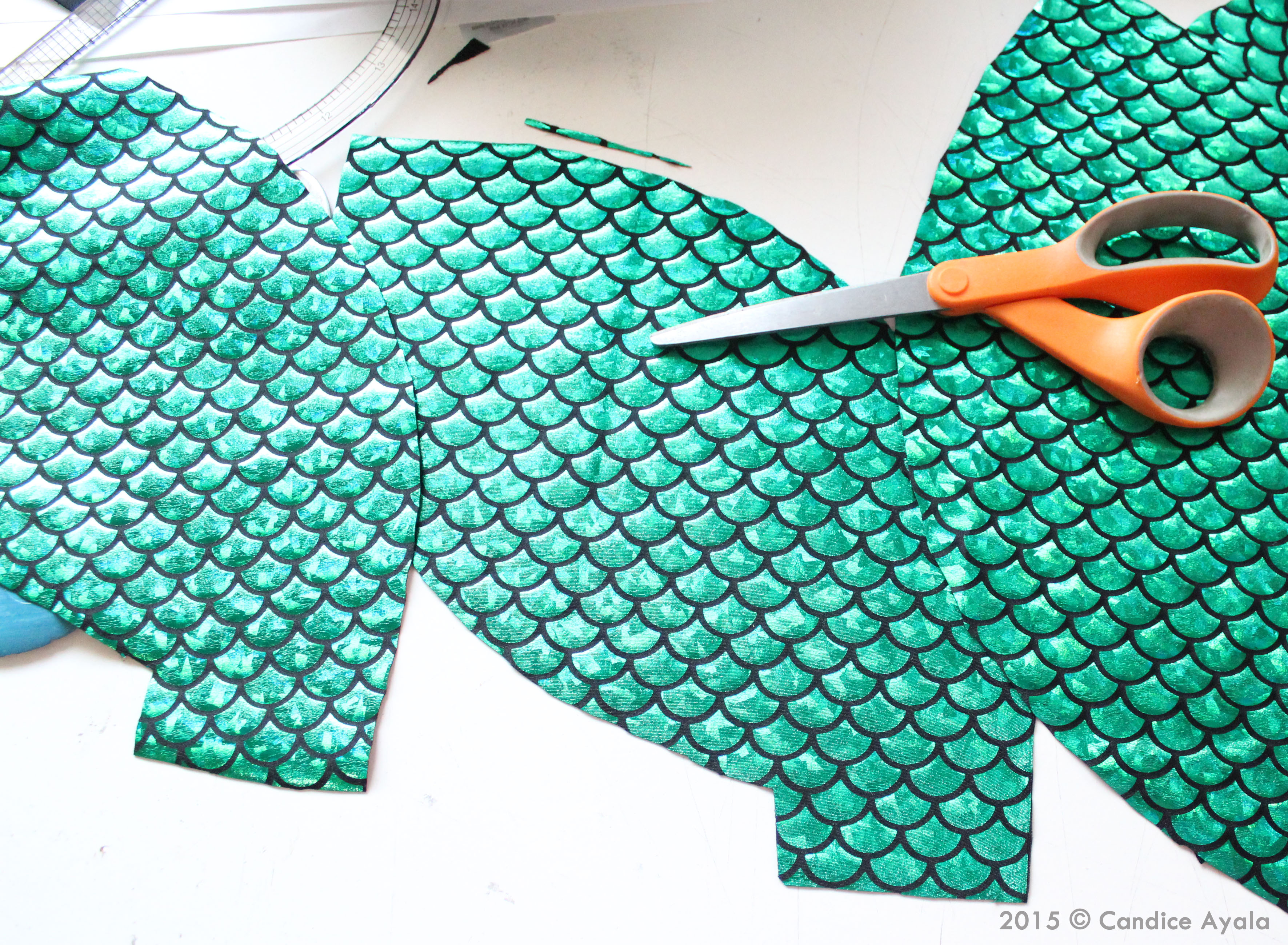 Mermaid Tail Sewing Pattern Awesome Decorating Ideas
