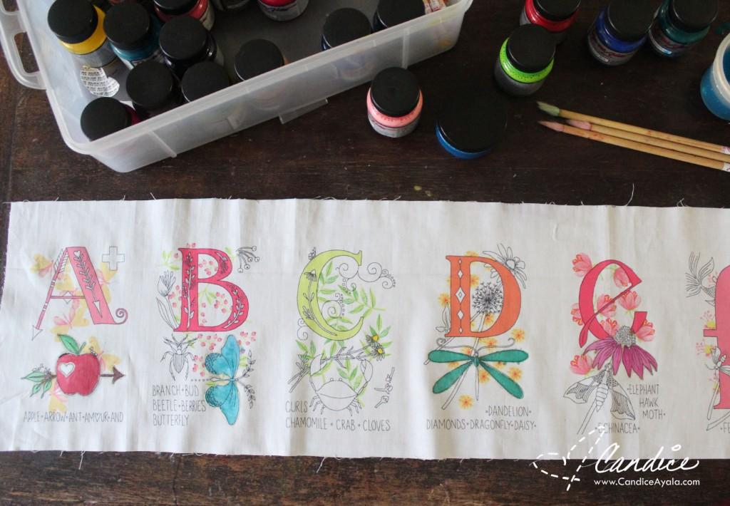 The Mori Dress & Top PDF Sewing Pattern using Nature Walk Fabric from Tamara Kate for Michael Miller Fabrics