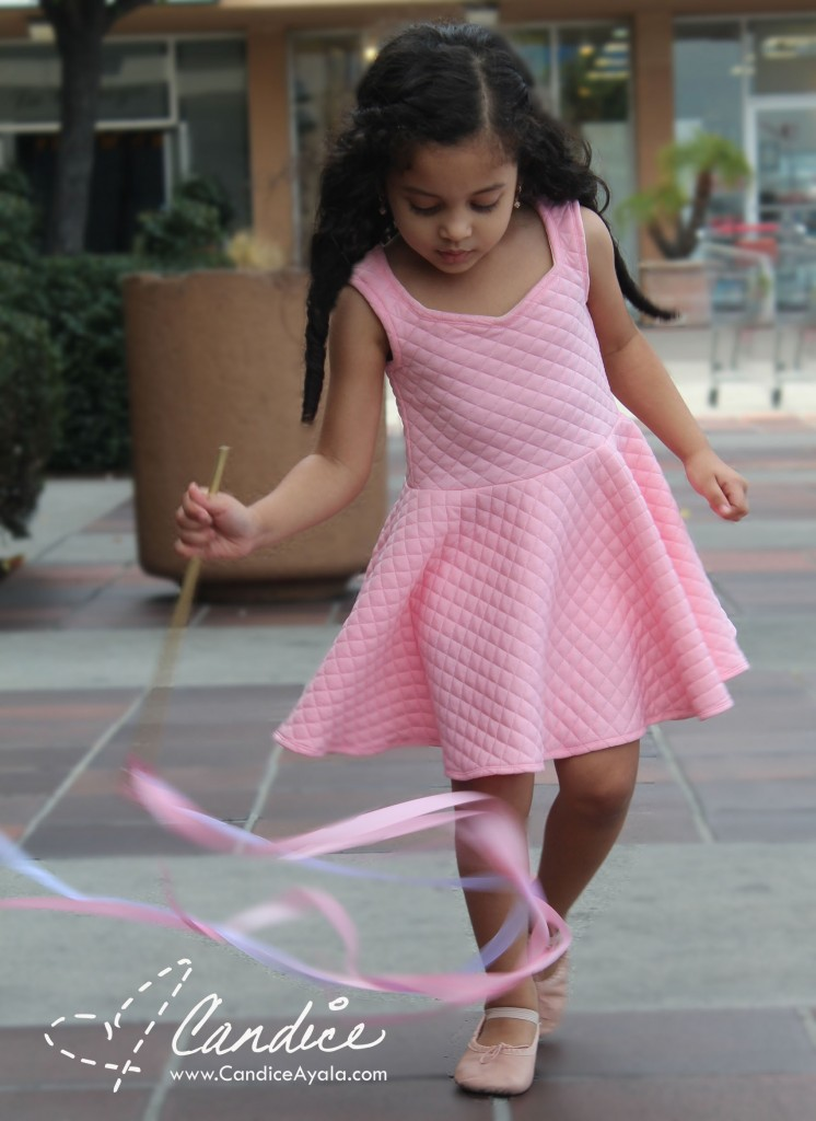 The Perfectly Perfect Pink Birthday Dress - Sewing for Girls - Sewing with Knit
