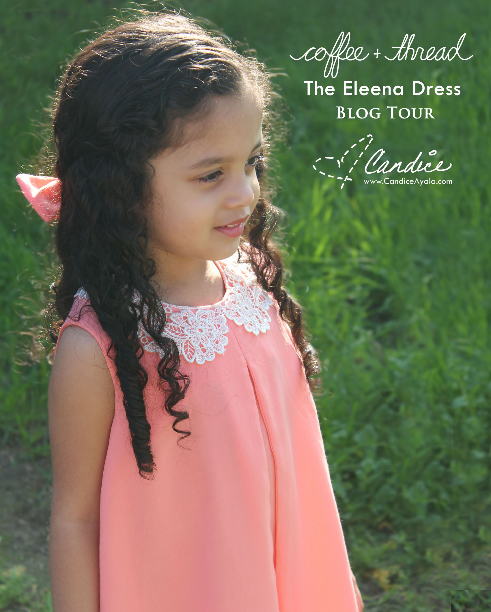 Coffee + Thread\'s Eleena Dress Blog Tour   Candice Ayala