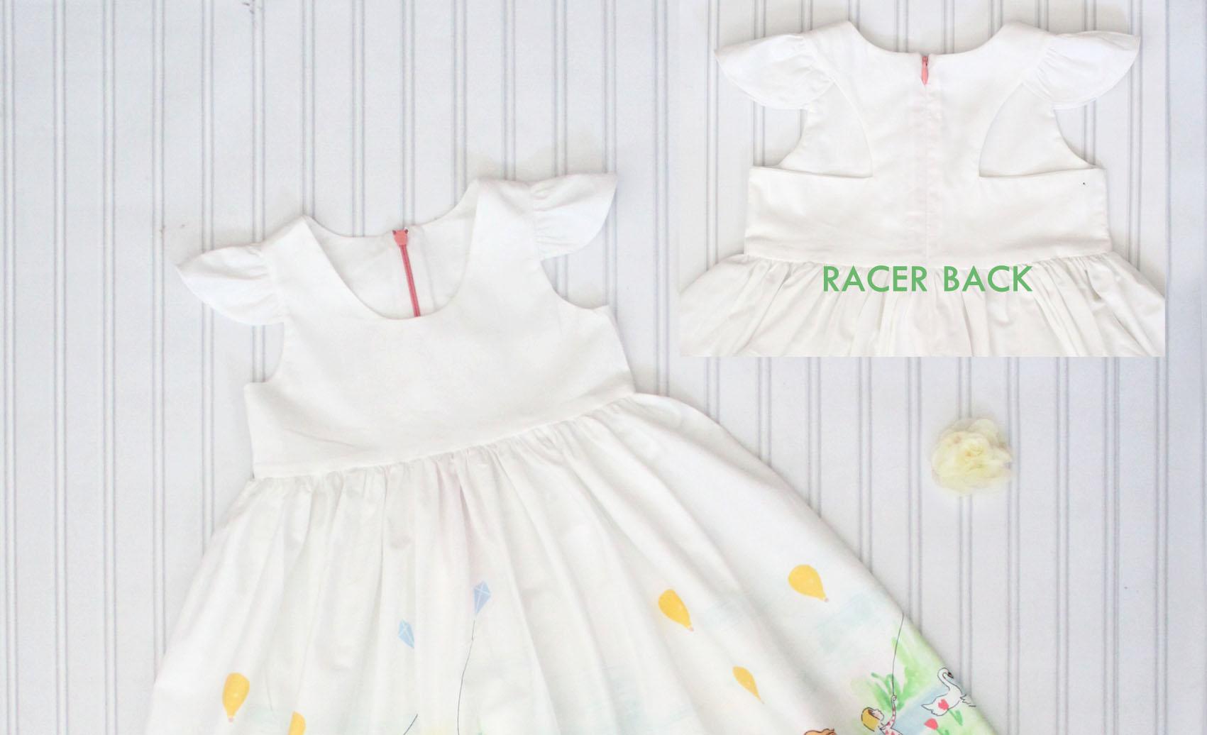 Tadah Patterns Tea Party Dress PDF Sewing Pattern