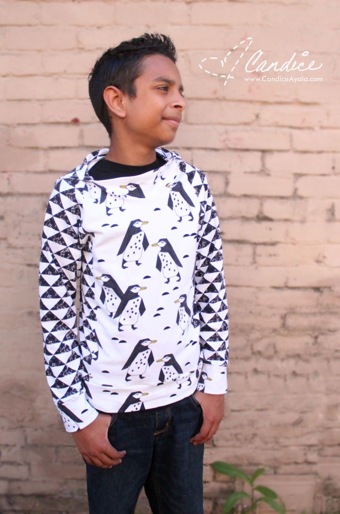 Semper Sweater PDF Sewing Pattern by Sofilantjes Patterns - Sewing for Boys