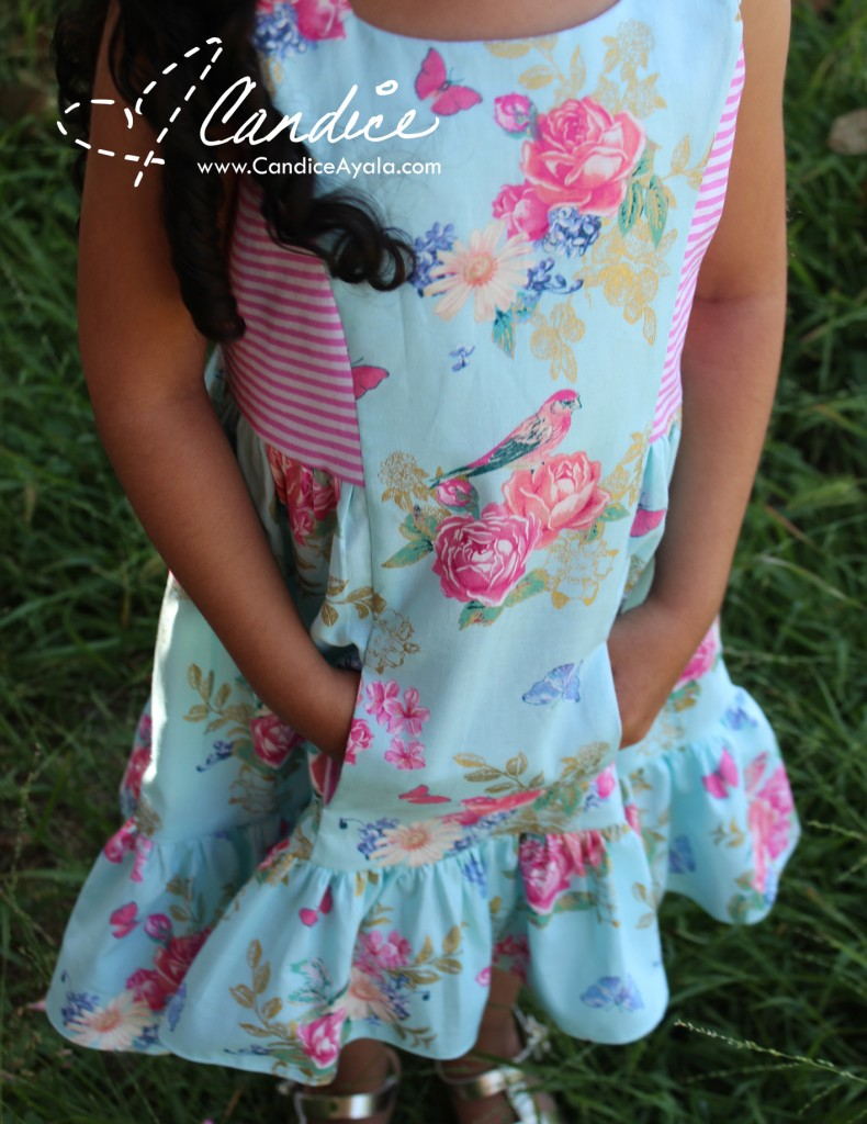 The Amare Top & Dress PDF Pattern HACKED by Candice Ayala