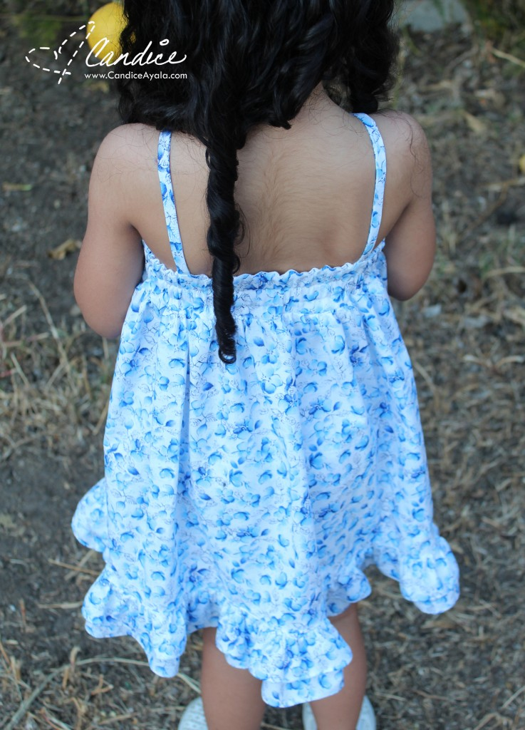 The Felicity Dress and Top PDF Pattern by Bella Sunshine Designs sewn by Candice Ayala of CandiceAyala.com