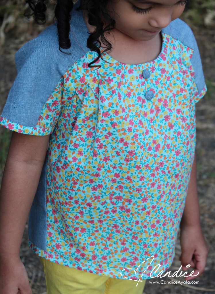Top Knot Romper PDF Pattern by Chalk and Notch sewn by Candice Ayala of CandiceAyala.com || Top Knot Tour : Pattern Hack