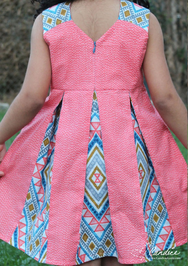 Raglan Party Dress PDF Pattern by Call Ajaire sewn by Candice Ayala of Candice Ayala for One Thimble Issue 13 Blog Tour
