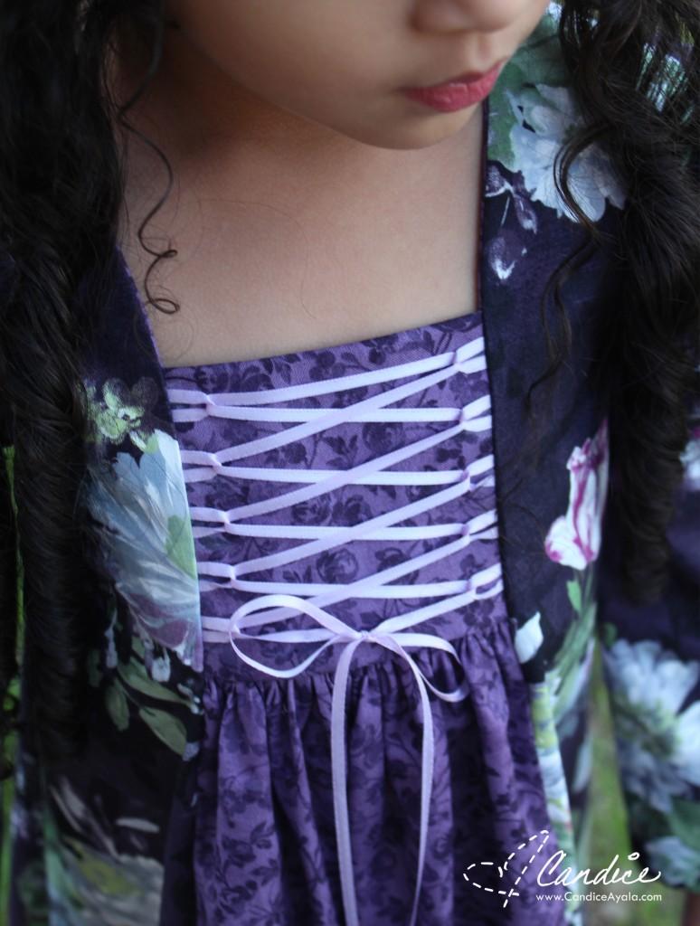The Annaliese Dress PDF Pattern by MCM Studios sewn by Candice Ayala