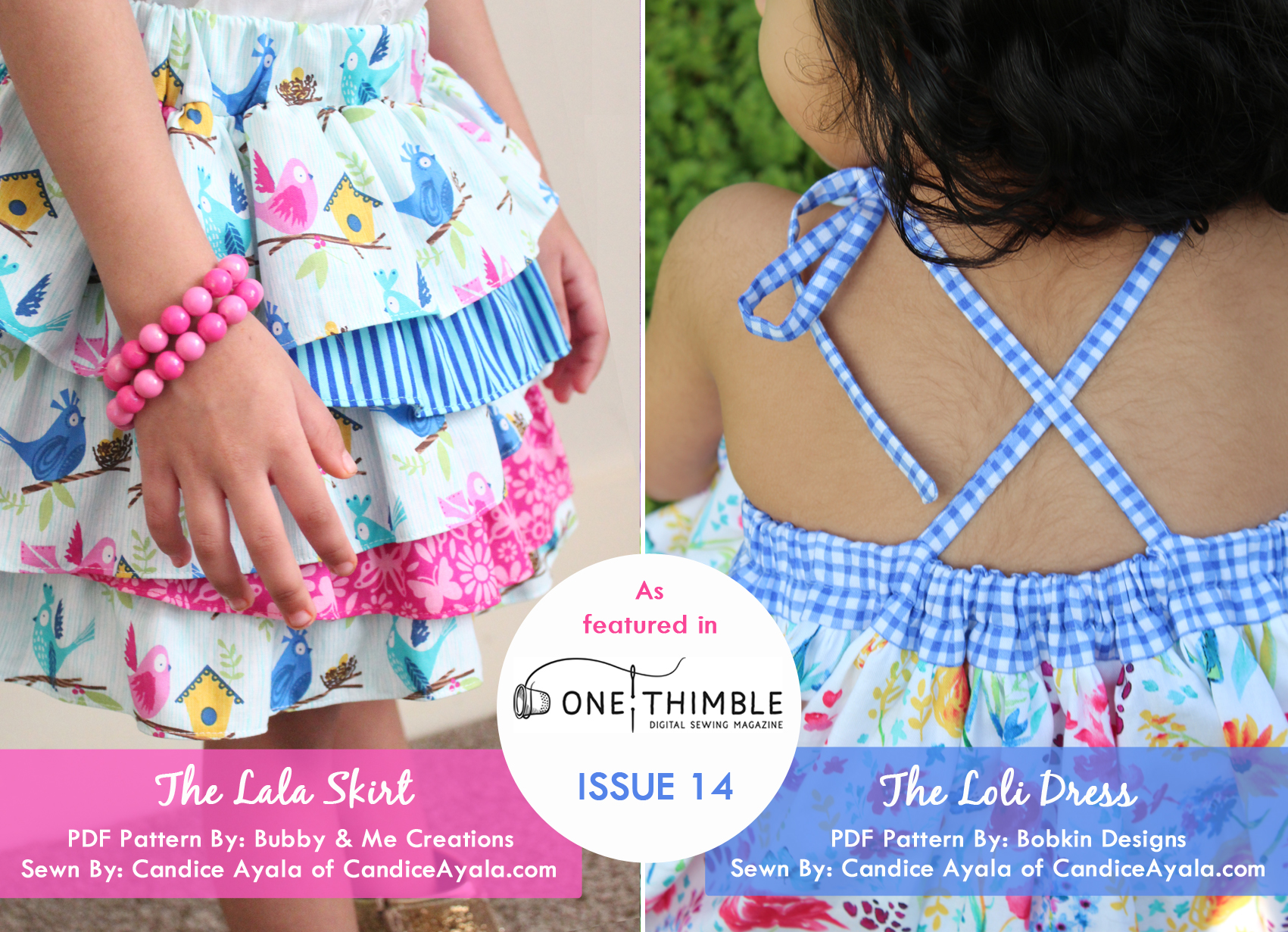 Sews by Candice Ayala of CandiceAyala.com for OT14 Blog Tour