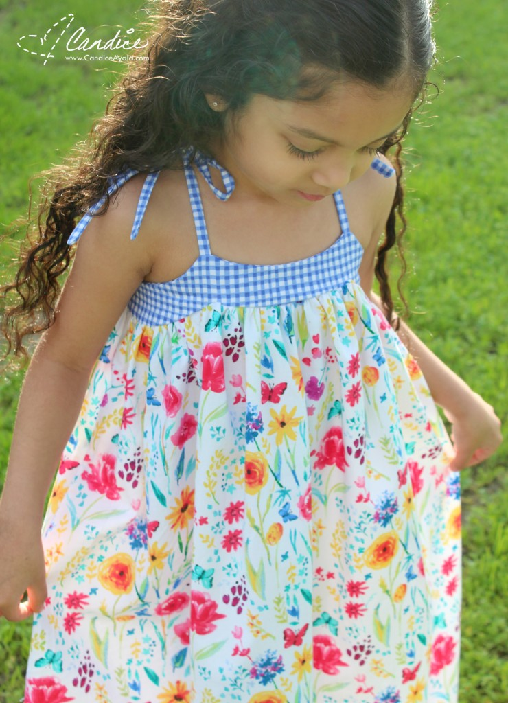 The Loli Dress PDF Pattern By Bobkin Designs sewn by Candice Ayala of CandiceAyala.com for OT14 Blog Tour