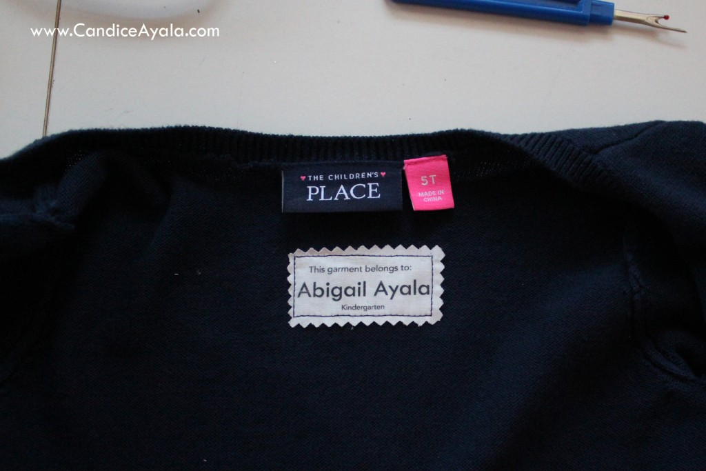 DIY Garment Tags / Labels with Printable Fabric Sheets