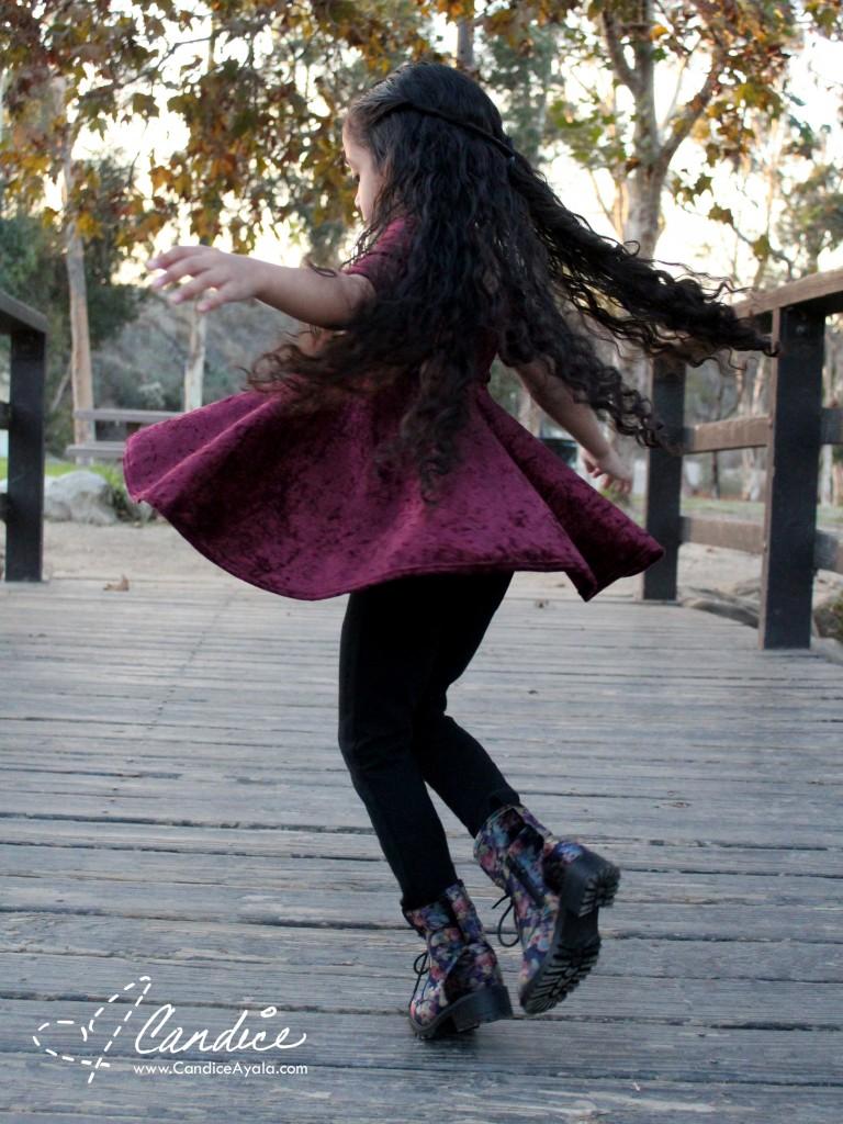 The Sahara Top/Dress PDF Pattern by Bella Sunshine Designs sewn by Candice Ayala of CandiceAyala.com