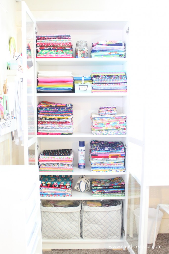 Sewing Room Makeover : Candice Ayala