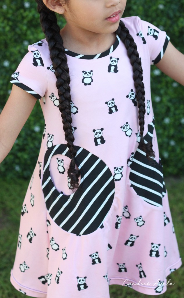 The Playtime Dress PDF Pattern by Sew by Pattern Pieces sewn by Candice Ayala of CandiceAyala.com