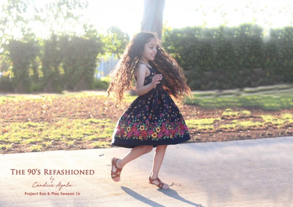 DIY Upcycled Dress by Candice Ayala