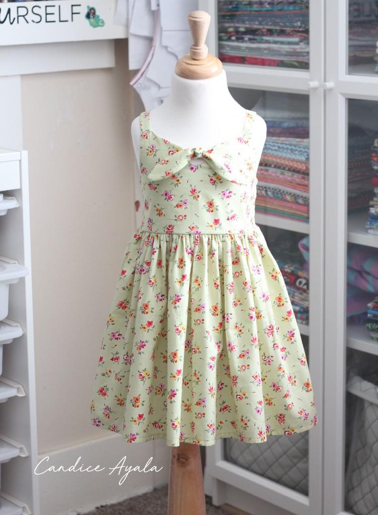 The Daisy Ray Dress sewn by Candice Ayala of CandiceAyala.com