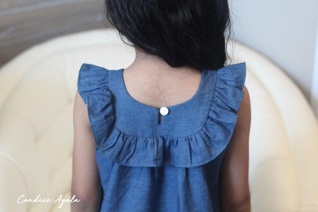 Border Print Dress - The Pauline Dress & Tunic Sewn by Candice Ayala