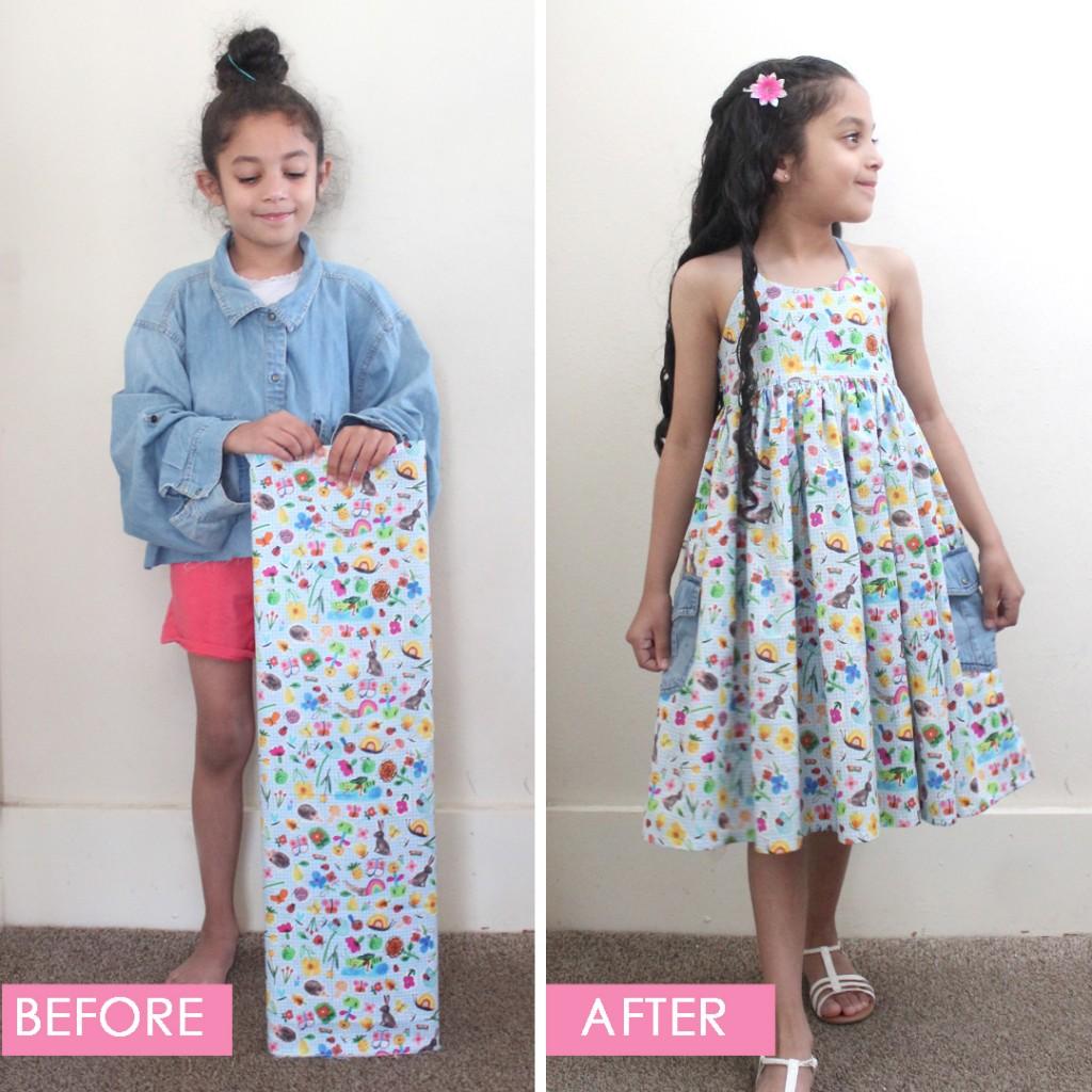 The Callie Dress PDF Pattern Sewn by Candice Ayala