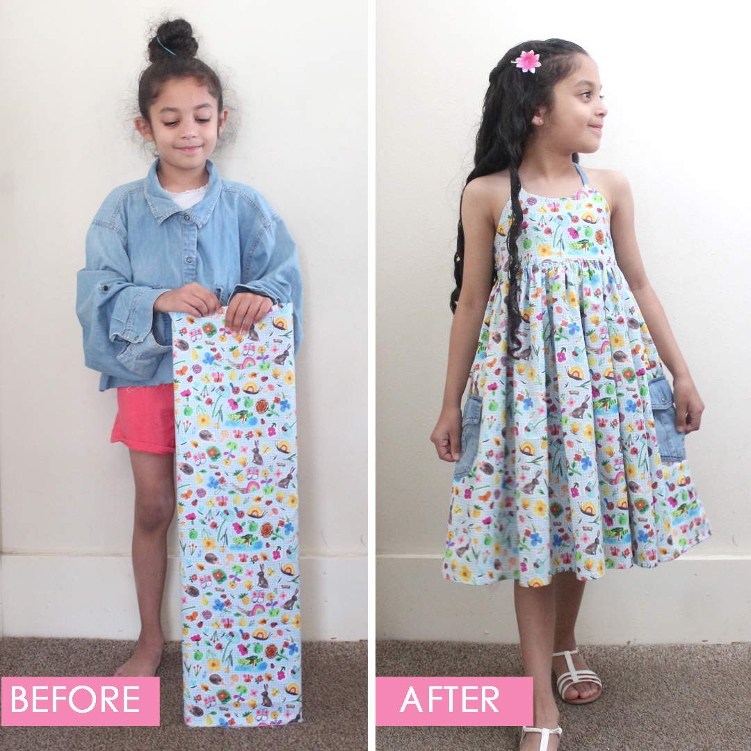 The Callie Dress PDF Pattern Sewn by Candice Ayala