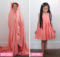 DIY Upcycled Bed Sheet to Child's Dress