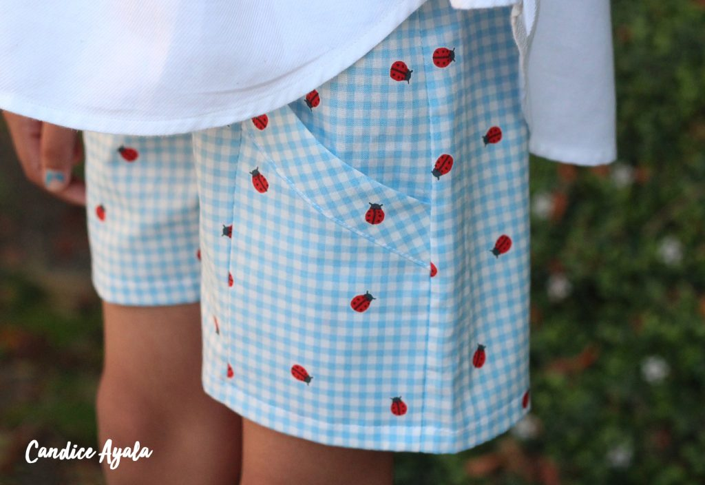 Adult Shirt to Top DIY Upcycle sewn by Candice Ayala